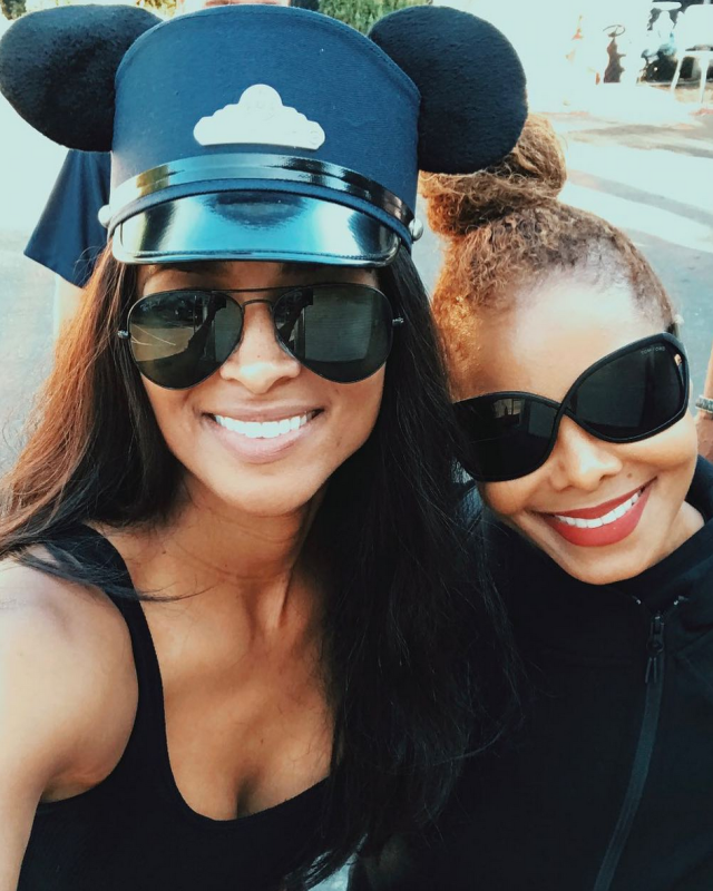 "<p>Disneyland was certainly the happiest place on earth for fans who got a glimpse of Ciara and Janet Jackson, who took their kiddos for some playtime with Mickey on Tuesday. ""Love you, @JanetJackson ""#FunTimes,"" Ciara wrote. (Photo: <a href=""https://www.instagram.com/p/BaGDq-hHoGL/?taken-by=ciara"" rel=""nofollow noopener"" target=""_blank"" data-ylk=""slk:Ciara via Instagram"" class=""link rapid-noclick-resp"">Ciara via Instagram</a>) </p>"