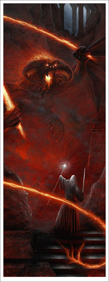 Mondo has partnered with artist JC Richard to create a set of three posters for 'THE LORD OF THE RINGS' Trilogy