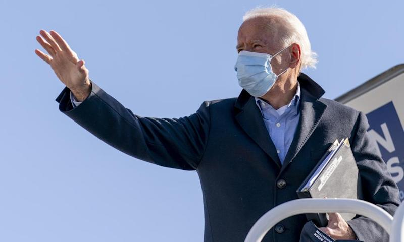 Manipulated video of Biden mixing up states was shared 1.1m times before being removed