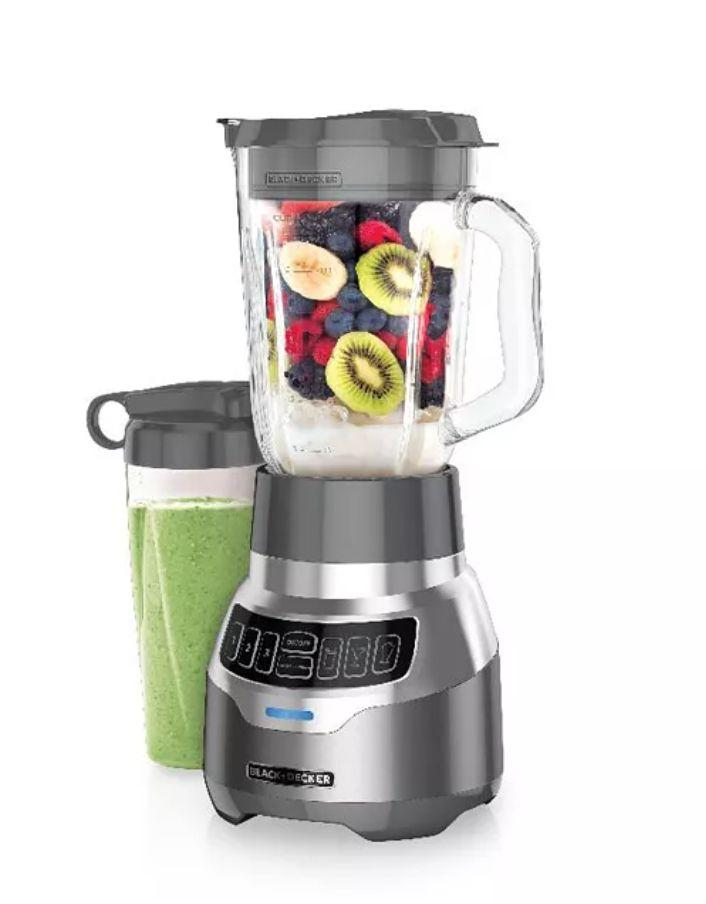 "This blender from Black & Decker features ""Quiet Technology,"" which means it'll make less noise when they're blending up fruits and veggies. It also has three different speeds, plus a pulsing option.  <a href=""https://fave.co/3nP37u6"" target=""_blank"" rel=""noopener noreferrer"">Find it for $80 at Macy's</a>."