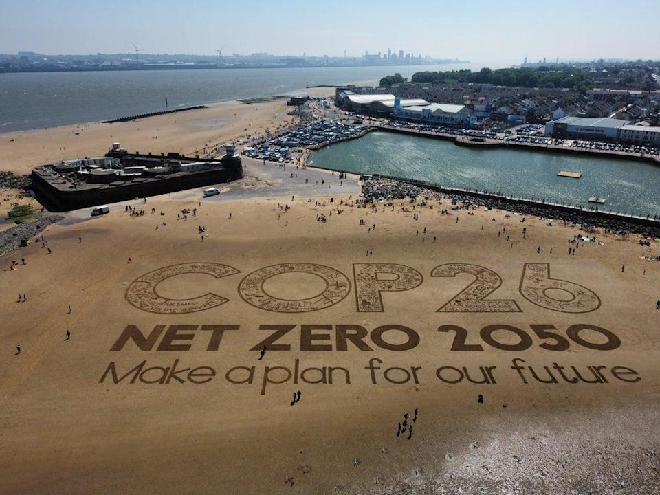The Government has set out ambitious targets for net-zero ahead of the Cop26 summit in Glasgow (Peter Byrne/PA) (PA Wire)