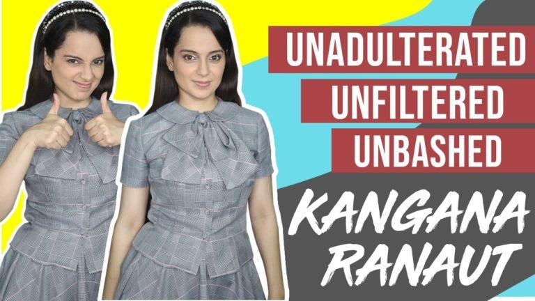 Exclusive : Watch Video As Kangana Ranaut Talks About The Media-Ban