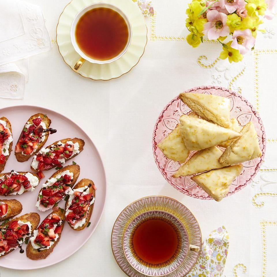 """<p>Even if elegant gatherings and tiny sandwiches aren't exactly your thing, you can still throw an afternoon tea to rival the best of them—and no, you don't need a bridal or baby shower as an excuse. Simply brew some tea, add some ice and sweetener, then pull together some of your favorite treats and small bites. Finally, set the table (outdoors or indoors!), and get ready for an unforgettable afternoon.</p><p><strong><a href=""""https://www.thepioneerwoman.com/food-cooking/a36134112/what-is-high-tea/"""" rel=""""nofollow noopener"""" target=""""_blank"""" data-ylk=""""slk:Get ideas"""" class=""""link rapid-noclick-resp"""">Get ideas</a>.</strong></p><p><a class=""""link rapid-noclick-resp"""" href=""""https://go.redirectingat.com?id=74968X1596630&url=https%3A%2F%2Fwww.walmart.com%2Fsearch%2F%3Fquery%3Dtea%2Bcups&sref=https%3A%2F%2Fwww.thepioneerwoman.com%2Fjust-for-fun%2Fg36599700%2Fsummer-party-ideas%2F"""" rel=""""nofollow noopener"""" target=""""_blank"""" data-ylk=""""slk:SHOP TEA CUPS"""">SHOP TEA CUPS</a></p>"""