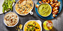 "<p>Try as you might, there's no way to guarantee a Super Bowl win for your favorite football team. You can, however, control what kind of grub you serve at <a href=""https://www.goodhousekeeping.com/life/g4949/super-bowl-party-ideas/"" rel=""nofollow noopener"" target=""_blank"" data-ylk=""slk:your game-day party"" class=""link rapid-noclick-resp"">your game-day party</a>. Take a look at these standout Super Bowl recipes to build your ultimate party spread, no matter if you're a diehard sports fan looking for fuel on the big night or simply excited about the prospect of making a meal of chicken wings, cheesy dips, and finger foods. Tailor your menu to the size of your crowd: There are recipes perfect for solo celebrations, parties of two, or entire households. <br></p><p>All of <a href=""https://www.goodhousekeeping.com/food-recipes/party-ideas/g477/football-superbowl-snacks/"" rel=""nofollow noopener"" target=""_blank"" data-ylk=""slk:these snack ideas"" class=""link rapid-noclick-resp"">these snack ideas</a> — we've included a handful of <a href=""https://www.goodhousekeeping.com/food-recipes/g25778949/vegan-super-bowl-recipes/"" rel=""nofollow noopener"" target=""_blank"" data-ylk=""slk:vegan"" class=""link rapid-noclick-resp"">vegan</a>, <a href=""https://www.goodhousekeeping.com/food-recipes/g25727072/vegetarian-super-bowl-recipes/"" rel=""nofollow noopener"" target=""_blank"" data-ylk=""slk:vegetarian"" class=""link rapid-noclick-resp"">vegetarian</a>, and <a href=""https://www.goodhousekeeping.com/food-recipes/healthy/g5076/healthy-super-bowl-recipes/"" rel=""nofollow noopener"" target=""_blank"" data-ylk=""slk:healthy options"" class=""link rapid-noclick-resp"">healthy options</a>, too — are touchdown-worthy, especially when loaded up with sauces, marinades, and ooey-gooey goodness. That means, everyone will be happy (and well-fed) from kickoff to MVP pick, even if their favorite team doesn't take home the Super Bowl win. But since most of these eats are hearty and savory, round out your party spread with something sweet, like these <a href=""https://www.goodhousekeeping.com/food-recipes/dessert/g5075/super-bowl-desserts/"" rel=""nofollow noopener"" target=""_blank"" data-ylk=""slk:Super Bowl desserts"" class=""link rapid-noclick-resp"">Super Bowl desserts</a> and <a href=""https://www.goodhousekeeping.com/food-recipes/party-ideas/g30446614/super-bowl-drinks/"" rel=""nofollow noopener"" target=""_blank"" data-ylk=""slk:boozy drinks"" class=""link rapid-noclick-resp"">boozy drinks</a>. </p>"