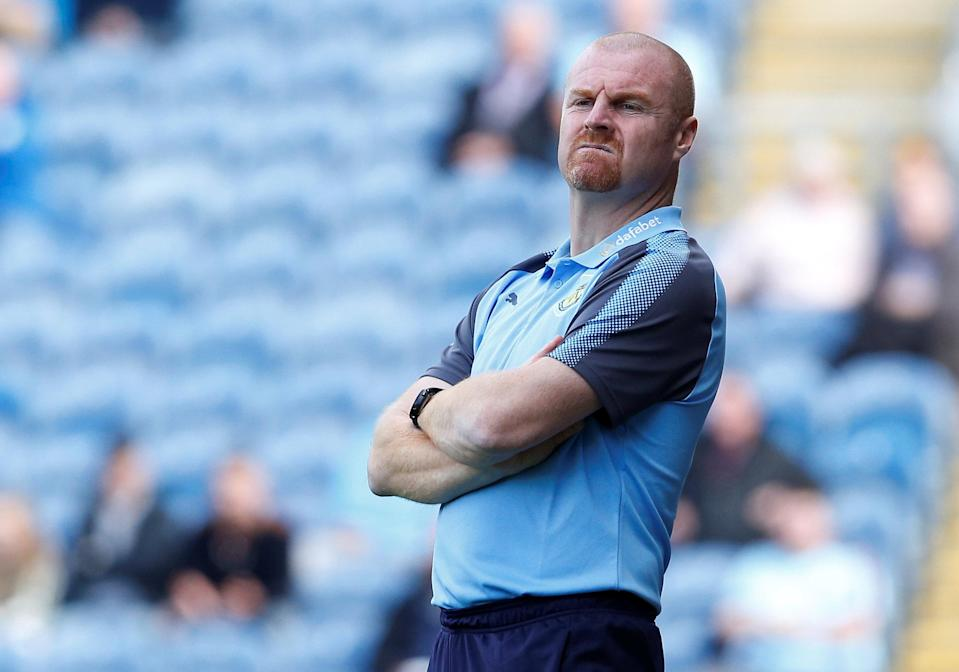 Sean Dyche has had Burnley punch above its weight class for awhile now. Can he do it again? (Reuters)