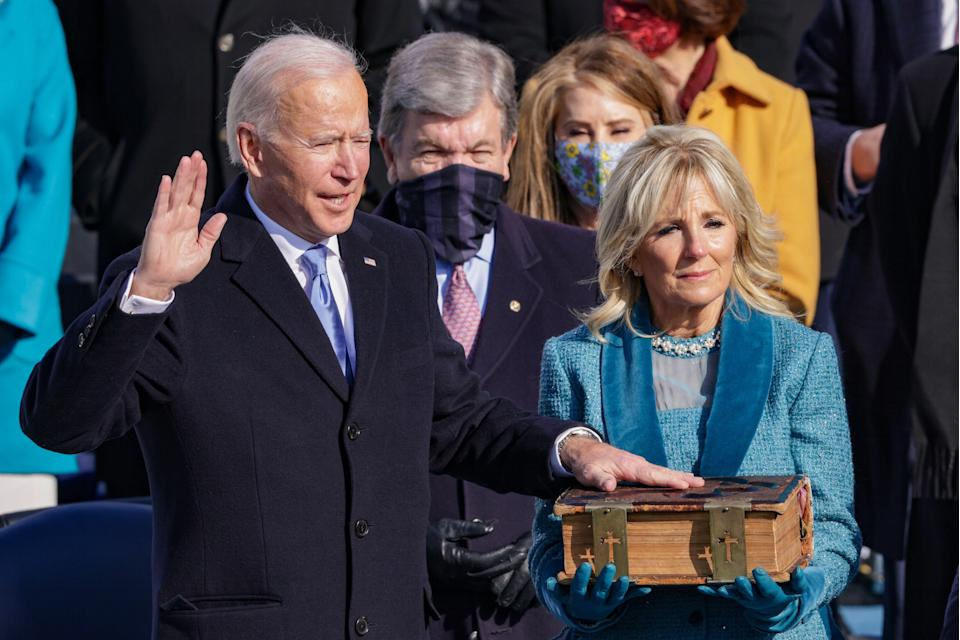 <p>Biden inauguration got more viewers than Trump's, Nielsen figures reveal</p> (Alex Wong/Getty Images)