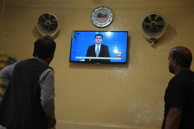 Tolo has kept broadcasting, but it now faces a tough and uncertain future (AFP/WAKIL KOHSAR)