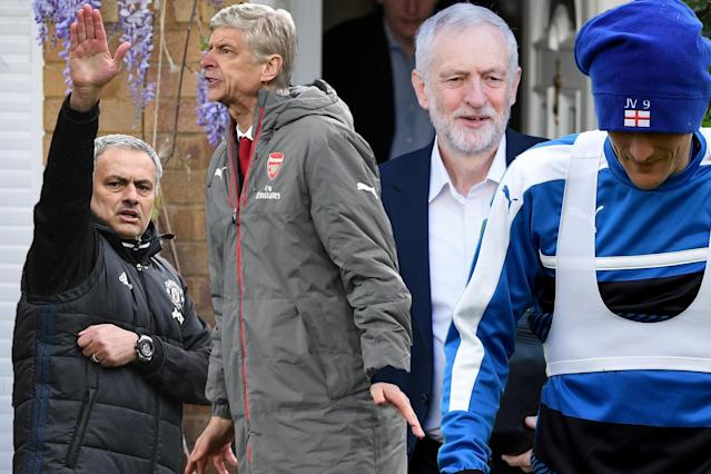 Mourinho, Wenger and Vardy could all prove vote winners as the nation decides (again)