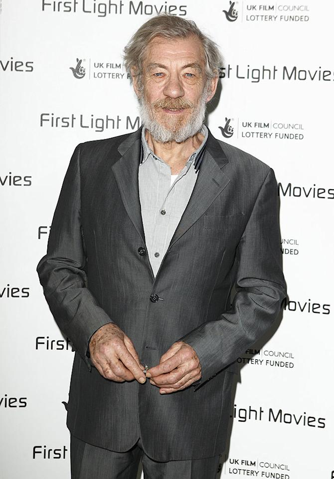 "Sir Ian McKellan -- better known as Gandalf to ""Lord of the Rings"" fans -- revealed he's gay back in 1988, and later co-founded a gay rights lobbying group called Stonewall in the United Kingdom. Mike Marsland/<a href=""http://www.wireimage.com"" target=""new"">WireImage.com</a> - March 2, 2010"