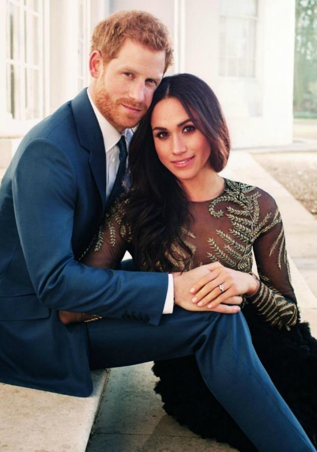 Meghan Markle and Prince Harry have received an official blessing from the Queen to go ahead with their wedding in May. Source: Getty