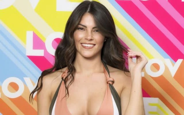 Rebecca Gormley, 21, is a contestant on Love Island