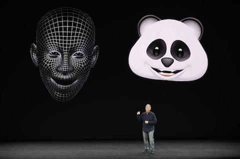 iPhone X comes with animoji that mirror owner's facial expression - Credit: Bloomberg