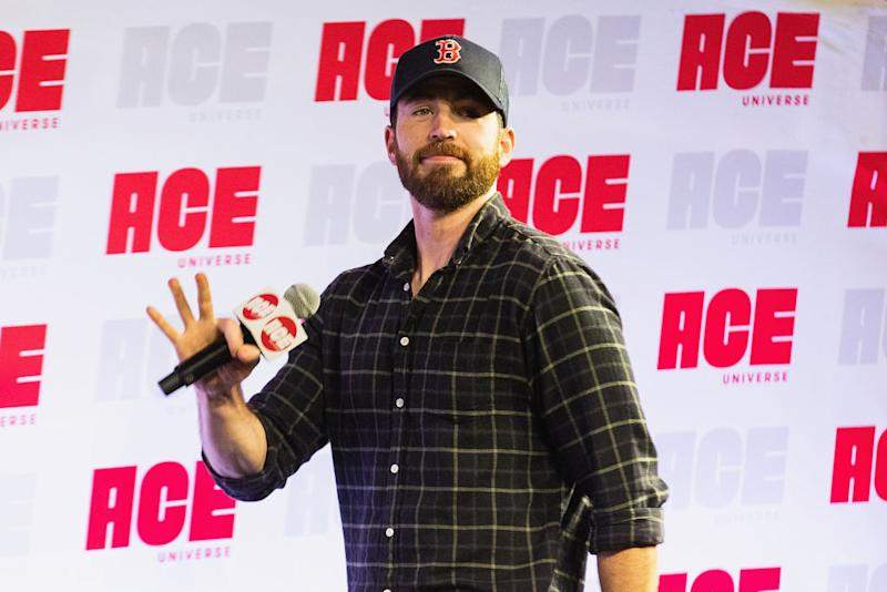 "Chris Evans has accused President Trump of ""wielding hate and racism"" to activate his base. (Photo: Mat Hayward/Getty Images)"