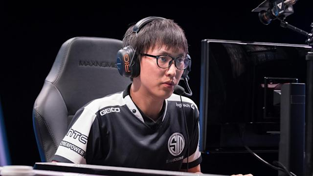 Gosu cites strong inspiration from Doublelift. (Jeremy Wacker)