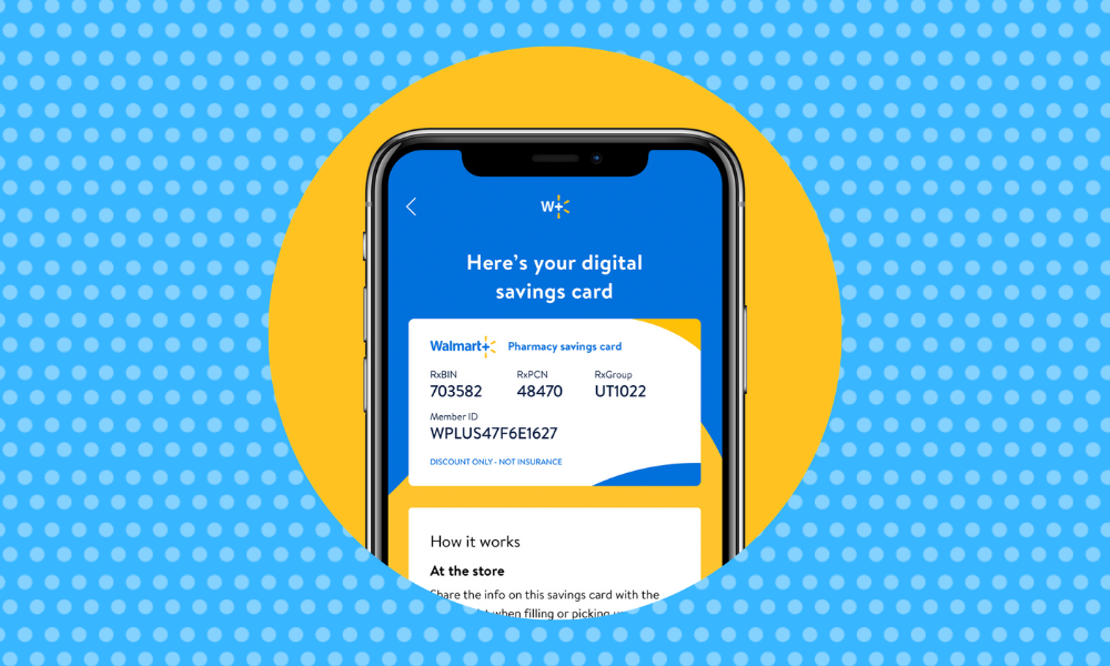 You can reorder prescriptions right from your phone. (Photo: Walmart)