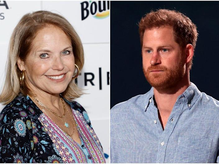 Katie Couric Prince Harry