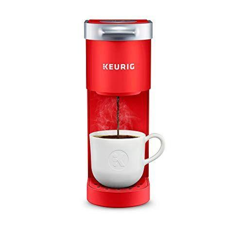 """<p><strong>Keurig</strong></p><p>amazon.com</p><p><strong>$79.99</strong></p><p><a href=""""https://www.amazon.com/dp/B08V8SWG1H?tag=syn-yahoo-20&ascsubtag=%5Bartid%7C2089.g.27965170%5Bsrc%7Cyahoo-us"""" rel=""""nofollow noopener"""" target=""""_blank"""" data-ylk=""""slk:Shop Now"""" class=""""link rapid-noclick-resp"""">Shop Now</a></p><p>With its sleek design, incredibly small footprint, and easy-to-use design, this single-serve coffee maker from Keurig makes your daily grind much smoother. Great for college students or those with smaller kitchens, we recommend you jump on this deal, stat!</p>"""