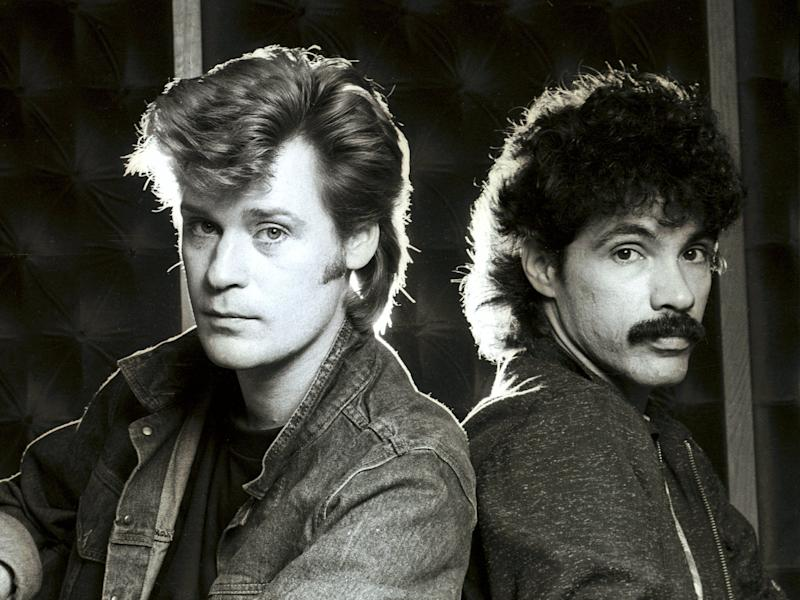 'We never wanted to be stars': Daryl Hall and John Oates in 1982 (Andre Csillag/Shutterstock)