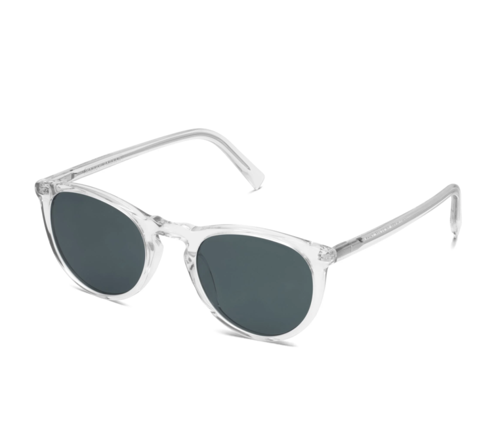 """<p>Warby Parker</p><p><strong>$175.00</strong></p><p><a href=""""https://go.redirectingat.com?id=74968X1596630&url=https%3A%2F%2Fwww.warbyparker.com%2Fsunglasses%2Fwomen%2Fhaskell%2Fcrystal&sref=https%3A%2F%2Fwww.townandcountrymag.com%2Fstyle%2Ffashion-trends%2Fg37682006%2Fnicky-hilton-fall-favorites%2F"""" rel=""""nofollow noopener"""" target=""""_blank"""" data-ylk=""""slk:Shop Now"""" class=""""link rapid-noclick-resp"""">Shop Now</a></p><p>""""I love these Caswell sunglasses by Warby Parker,"""" Hilton says. """"I love that they work totally year round. They're clear, they go with everything.""""</p>"""