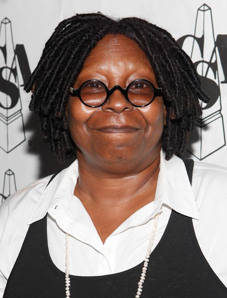 NEW YORK - SEPTEMBER 26:  Comedian Whoopi Goldberg attends the Casting Society of America's 27th annual Artios Awards Ceremony at District 36 on September 26, 2011 in New York City.  (Photo by Amy Sussman/Getty Images)