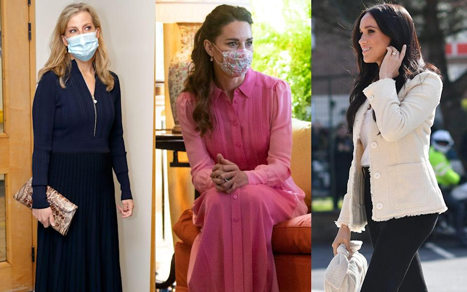 royal fashion high street duchess of cambridge sussex sophie wessex - Getty Images