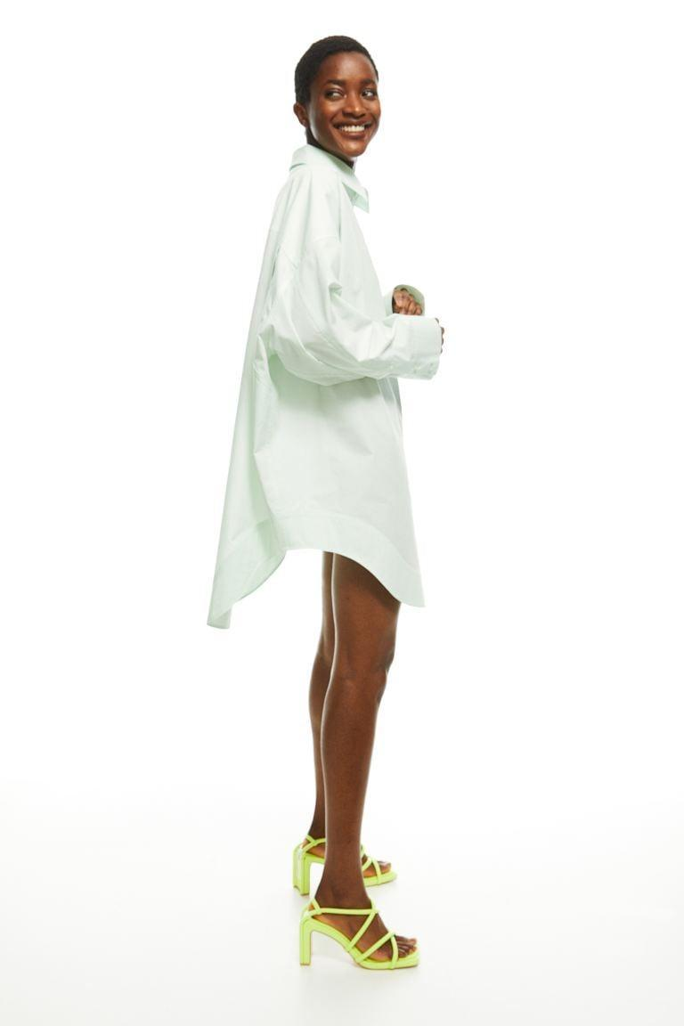 <p>You'll throw on this <span>H&amp;M Cotton Shirt Dress</span> ($70) all spring long.</p>