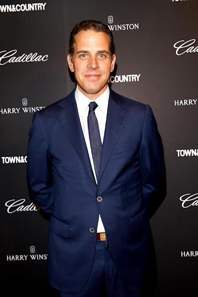 Hunter Biden, pictured during an event at Lincoln Center in New York, on May 28, 2014 (AFP Photo/Astrid Stawiarz)