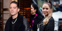 "<p>The breakup between Ashley Benson and Cara Delevingne hadn't even been confirmed yet when Ashley was spotted out with G-Eazy. The new couple came as a shock to Ashley's fans. In a twist of events, Cara <a href=""https://www.youtube.com/watch?v=Ybq54PSV5A0"" rel=""nofollow noopener"" target=""_blank"" data-ylk=""slk:came to her ex-girlfriend's defense"" class=""link rapid-noclick-resp"">came to her ex-girlfriend's defense</a> and told her followers to stop trolling Ashley.</p>"