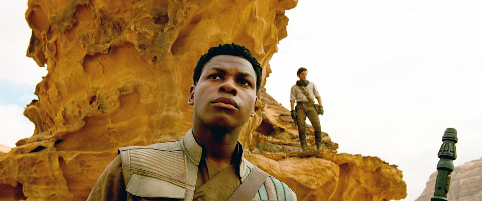 John Boyega as Finn in 'Star Wars: The Rise of Skywalker' (Photo: Walt Disney Studios Motion Pictures / © Lucasfilm / courtesy Everett Collection)