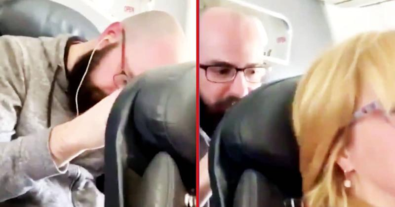 Viral Video Of Man Punching Woman's Airplane Seat Has Internet Divided
