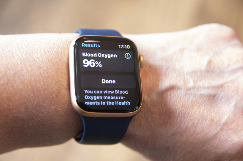 18th September 2020 Wearing the New Apple Watch Series 6