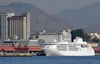 <p>The USA Basketball men's and women's national teams will stay aboard the Silver Cloud cruise ship at the Rio de Janeiro Olympics. (Vanderlei Almeida/Getty Images) </p>