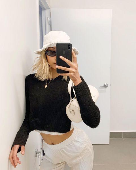 "<p>Zendaya wore a bucket hat on the February <a href=""https://www.instagram.com/p/CJ6VRaZr9XR/"" rel=""nofollow noopener"" target=""_blank"" data-ylk=""slk:cover of GQ"" class=""link rapid-noclick-resp"">cover of <em>GQ</em></a><em>, </em>so that's what we're wearing all spring 2021! Sorry, I don't make the rules. Rake a golf ball-sized amount of <a href=""https://www.target.com/p/rucker-roots-gtc-texture-hair-styling-mousse-8-fl-oz/-/A-76150002"" rel=""nofollow noopener"" target=""_blank"" data-ylk=""slk:mousse"" class=""link rapid-noclick-resp"">mousse</a> <strong>through your ends to add texture,</strong> plop on your hat, then snap a selfie.</p><p><a href=""https://www.instagram.com/p/CAQRoktpU1c/"" rel=""nofollow noopener"" target=""_blank"" data-ylk=""slk:See the original post on Instagram"" class=""link rapid-noclick-resp"">See the original post on Instagram</a></p>"