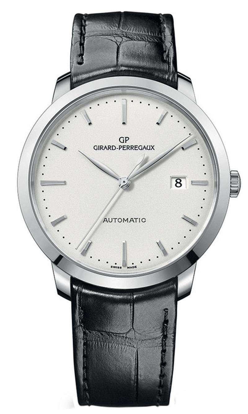 """<p>1966 Automatic<br></p><p><a class=""""link rapid-noclick-resp"""" href=""""https://go.redirectingat.com?id=127X1599956&url=https%3A%2F%2Fwww.mrporter.com%2Fen-gb%2Fmens%2Fproduct%2Fgirard-perregaux%2Fluxury-watches%2Fdress-watches%2F1966-automatic-40mm-stainless-steel-and-alligator-watch-ref-no-49555-11-131-bb60%2F23471478576175492&sref=https%3A%2F%2Fwww.esquire.com%2Fuk%2Fwatches%2Fg25973970%2Fbest-mens-watches%2F"""" rel=""""nofollow noopener"""" target=""""_blank"""" data-ylk=""""slk:SHOP"""">SHOP</a></p><p>Girard-Perregaux doesn't have the household cachet of, say, Rolex or Cartier. But that's kind've the point. The Swiss manufacture, first established way, way back in 1791, is the sort of name to which seasoned collectors graduate after buying a few more well-known, well-recognised pieces. </p><p>But that's not to say it's just a watch fan's watch brand. The 1966 Automatic is the sort of all-rounder that makes for a great first (or 52nd) watch: it's clean, classic and powered by a respected movement made in-house – an essential hallmark for any watchmaker of good pedigree.</p><p>£5,800; <a href=""""https://go.redirectingat.com?id=127X1599956&url=https%3A%2F%2Fwww.mrporter.com%2Fen-gb%2Fmens%2Fproduct%2Fgirard-perregaux%2Fluxury-watches%2Fdress-watches%2F1966-automatic-40mm-stainless-steel-and-alligator-watch-ref-no-49555-11-131-bb60%2F23471478576175492&sref=https%3A%2F%2Fwww.esquire.com%2Fuk%2Fwatches%2Fg25973970%2Fbest-mens-watches%2F"""" rel=""""nofollow noopener"""" target=""""_blank"""" data-ylk=""""slk:mrporter.com"""" class=""""link rapid-noclick-resp"""">mrporter.com</a></p>"""