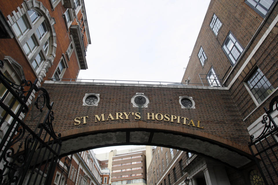 St Mary's Hospital in Paddington, London,  Monday, Dec. 5, 2011. In January, the government introduced a new health bill many fear will bring even more draconian cuts and competition from private providers. The bill is now in the process of being adopted and will overhaul the current management structure and axe more than 20,000 health jobs in the next two years. An undisclosed number of hospitals will also be shut, rumored to include St. Mary's in London, where Alexander Fleming discovered penicillin. (AP Photo/Kirsty Wigglesworth)
