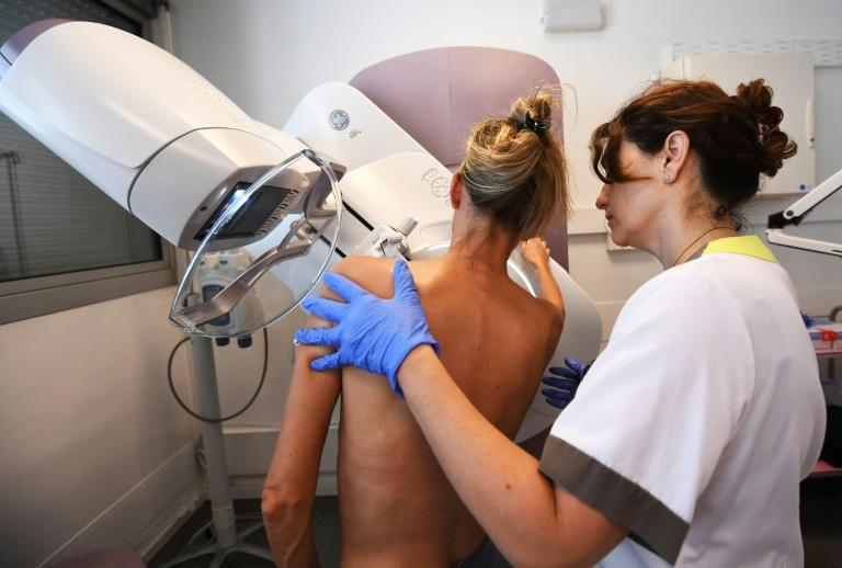 Thermal cameras are sometimes used to screen patients for breast cancer, are not as effective in spotting tumours as mammograms, a type of X-Ray