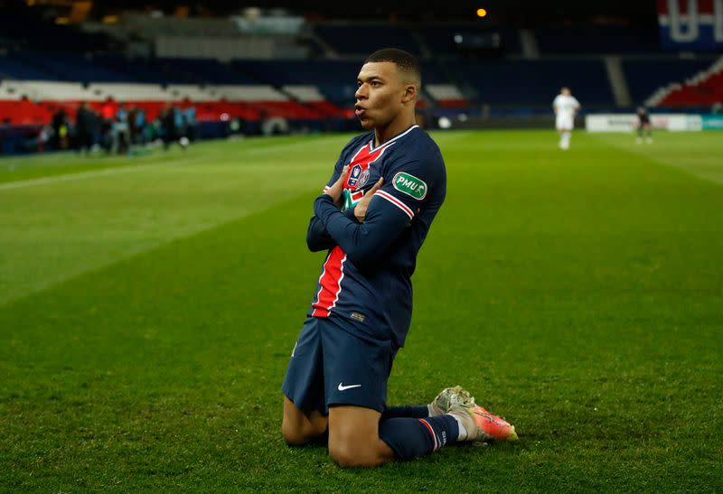 French Cup - Round of 16 - Paris St Germain v Lille