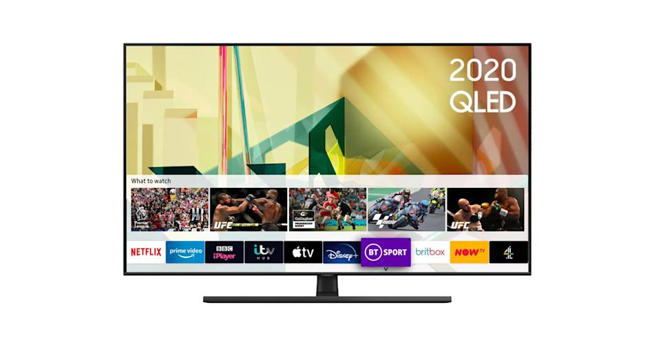 "Samsung 55"" Smart 4K Ultra HD QLED TV"