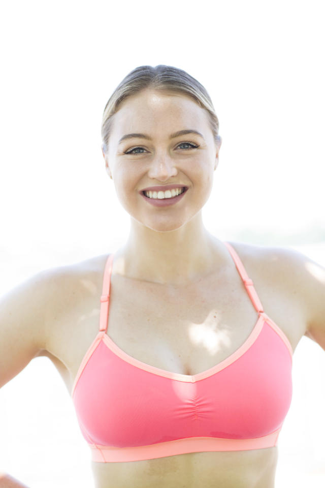 Iskra Lawrence thinks it's important to open up about personal struggles. (Photo: Courtesy Iskra Lawrence)