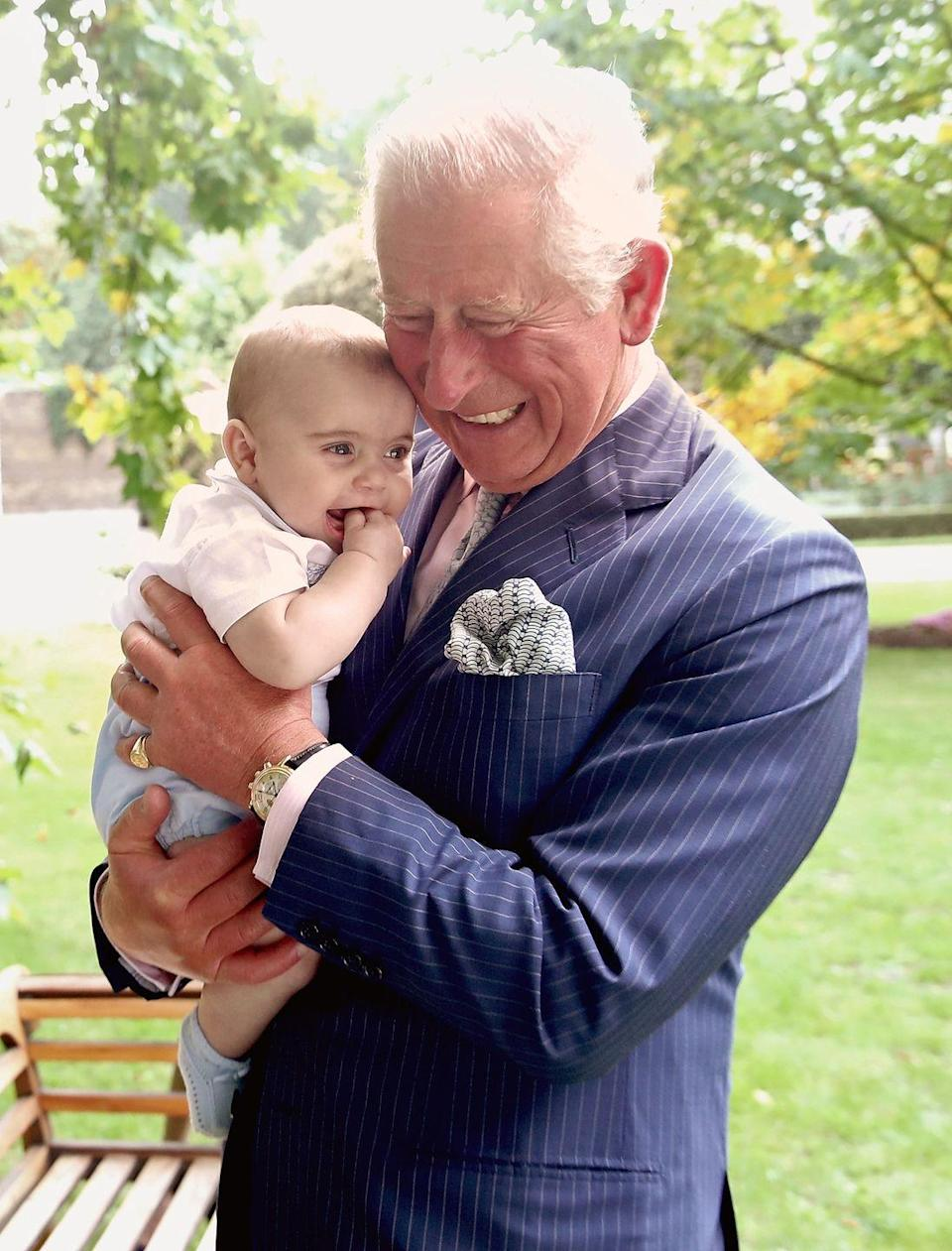 <p>Charles shares a sweet moment with his youngest grandson is a new set of photos released in honor of the Prince of Wales's 70th birthday.</p>
