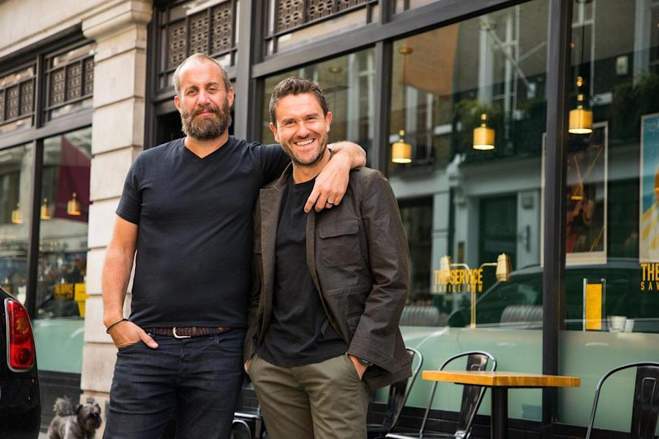 Owners of Fresh Coffee Company, Marcel Ottoy and Toby Richardson (The Service)