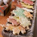 """<p>Add these buttery maple pecan cookies to your Halloween dessert table for some extra fall flair.</p><p><em><a href=""""https://www.goodhousekeeping.com/food-recipes/a11299/pecan-maple-leaves-recipe-ghk1011/"""" rel=""""nofollow noopener"""" target=""""_blank"""" data-ylk=""""slk:Get the recipe for Pecan Maple Leaves »"""" class=""""link rapid-noclick-resp"""">Get the recipe for Pecan Maple Leaves »</a></em></p>"""