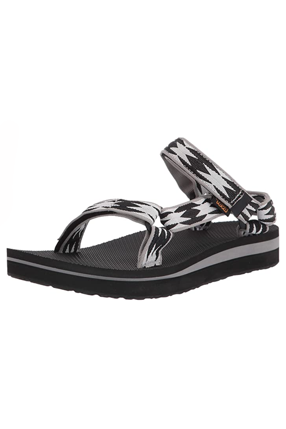 """<p><strong>Teva</strong></p><p>amazon.com</p><p><strong>$47.93</strong></p><p><a href=""""https://www.amazon.com/dp/B07TBX986X?tag=syn-yahoo-20&ascsubtag=%5Bartid%7C10058.g.27205502%5Bsrc%7Cyahoo-us"""" rel=""""nofollow noopener"""" target=""""_blank"""" data-ylk=""""slk:SHOP IT"""" class=""""link rapid-noclick-resp"""">SHOP IT</a></p><p>This best-selling sandal has been around for years and there's a reason why. The sole actually molds to fit your feet as you wear them which means that your arches will stay supported every single time you put them on.</p>"""