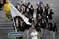 <p>The first-ever team composed entirely of refugees, only 10 in all, deserves so much more than making the best-dressed Opening Ceremony list. Their tenacity and their passion prove that belief, hard work, and having the support of the rest of the world proves you can do anything.</p><p><i>(Photo: Getty Images)</i><br></p>