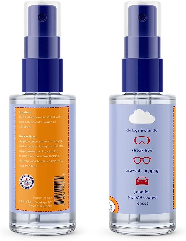 Optix 55 Anti-Fog Spray (Photo: Amazon)