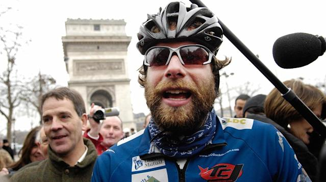 Scottish cyclist Mark Beaumont plans to go around the world in 80 days on his bike, which would set a new world record, according to BBC Scotland.