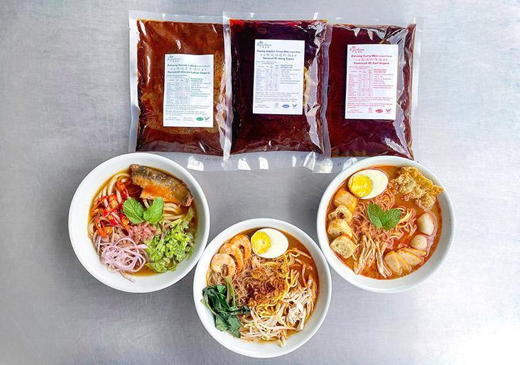 Trupaste makes easy-to-cook, authentic tasting soup pastes such as for Penang style 'asam laksa', prawn mee and curry mee. – Pictures courtesy of Trupaste