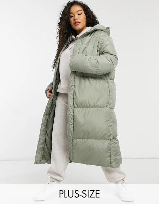 """<br><br><strong>Threadbare Curve</strong> Jodie longline puffer coat, $, available at <a href=""""https://www.asos.com/threadbare-curve/threadbare-curve-jodie-longline-puffer-coat/prd/21294575?"""" rel=""""nofollow noopener"""" target=""""_blank"""" data-ylk=""""slk:ASOS"""" class=""""link rapid-noclick-resp"""">ASOS</a>"""