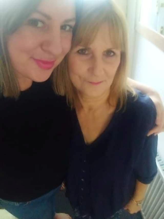 Shirley Hair, right, with her daughter, Jessica, has made a remarkable recovery (Picture: SWNS)