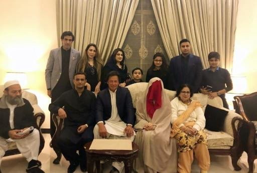 <p>Hat-trick as Pakistan's Imran Khan marries for third time</p>
